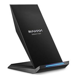 Fast Wireless Charger, NANAMI Qi Certified Charger Wireless