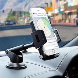 Car Phone Mount,Washable Strong Sticky Dashboard and Windshi