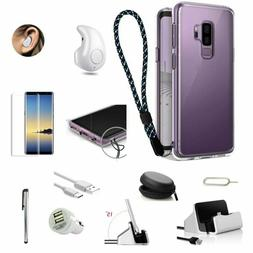 Case Cover Charger Wireless Headset Accessory Bundle For Sam