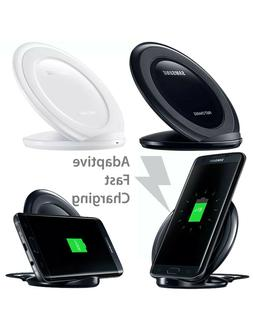 Fast Qi Wireless Charger Charging Pad Stand  for Samsung Gal