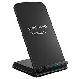 Fast Wireless Charger Stand Pad for iPhone 8/8 Plus,iPhone X