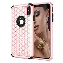 iPhone Xs Max Case, UZER 3in1 Shockproof Drop-Protection Lux