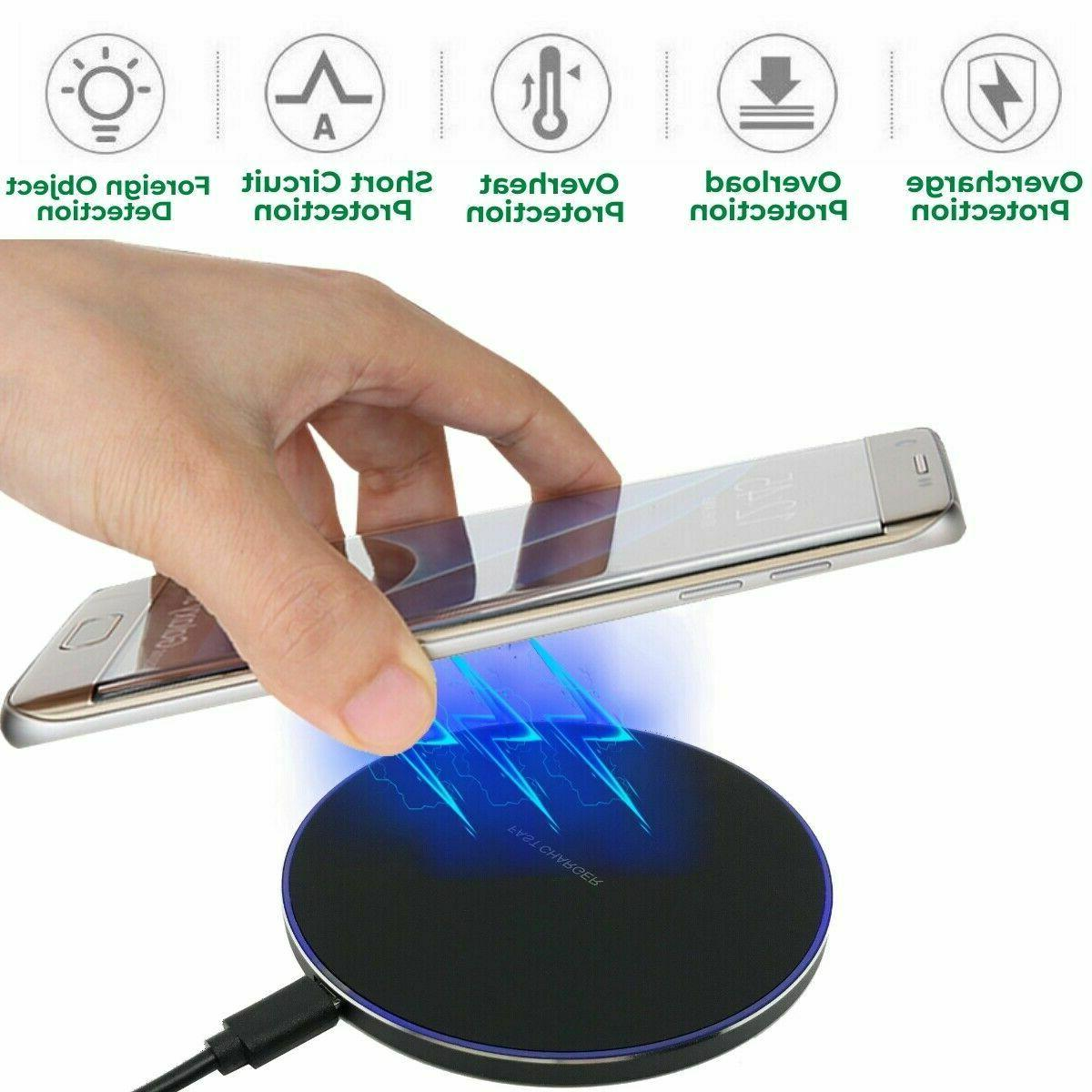 NEW 10W Fast Charger Charging Pad Dock cell
