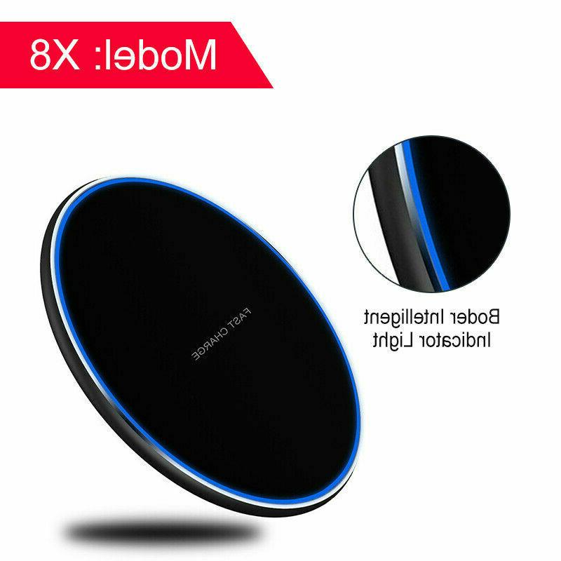 NEW Qi Fast Charger Charging Dock Phone iPhone Android