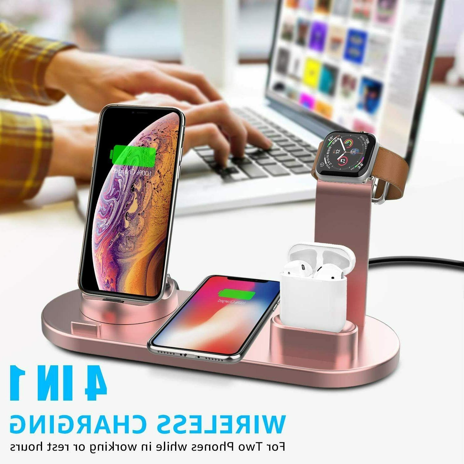 3 Charger Station Watch Pods iPhone