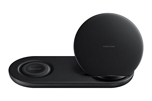 Samsung Wireless Charger Fast Stand Pad, Universally Qi Enabled Select Black