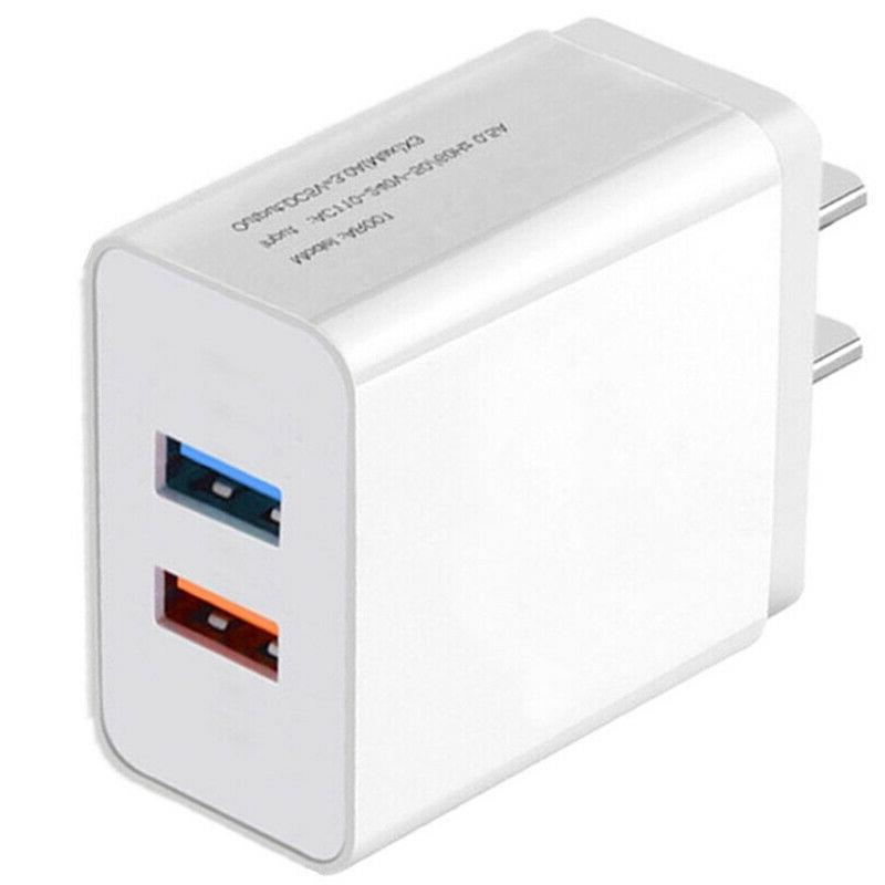 USB Fast Quick Charge Wall Charger Samsung Galaxy 9 11