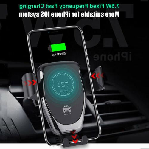 10W Wireless Charger Car Mount XS Samsung