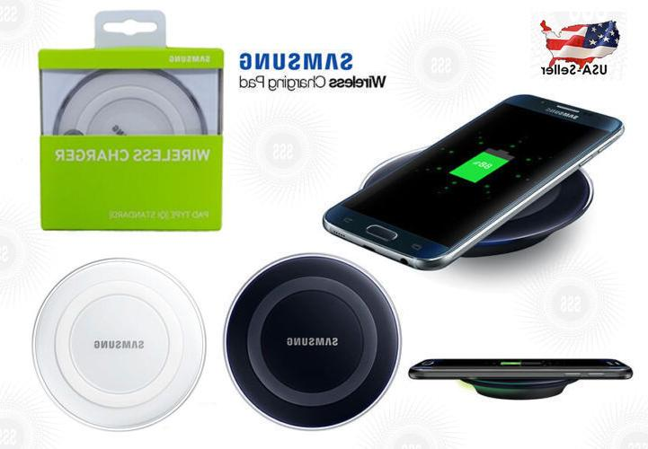 qi wireless charging pad charger for galaxy