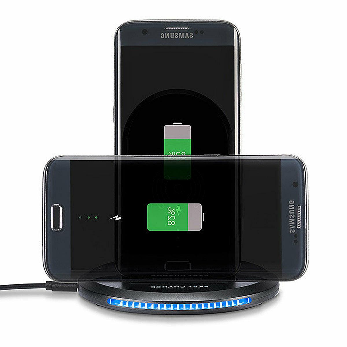 For S6 Note 5 Qi Wireless Fast Charger