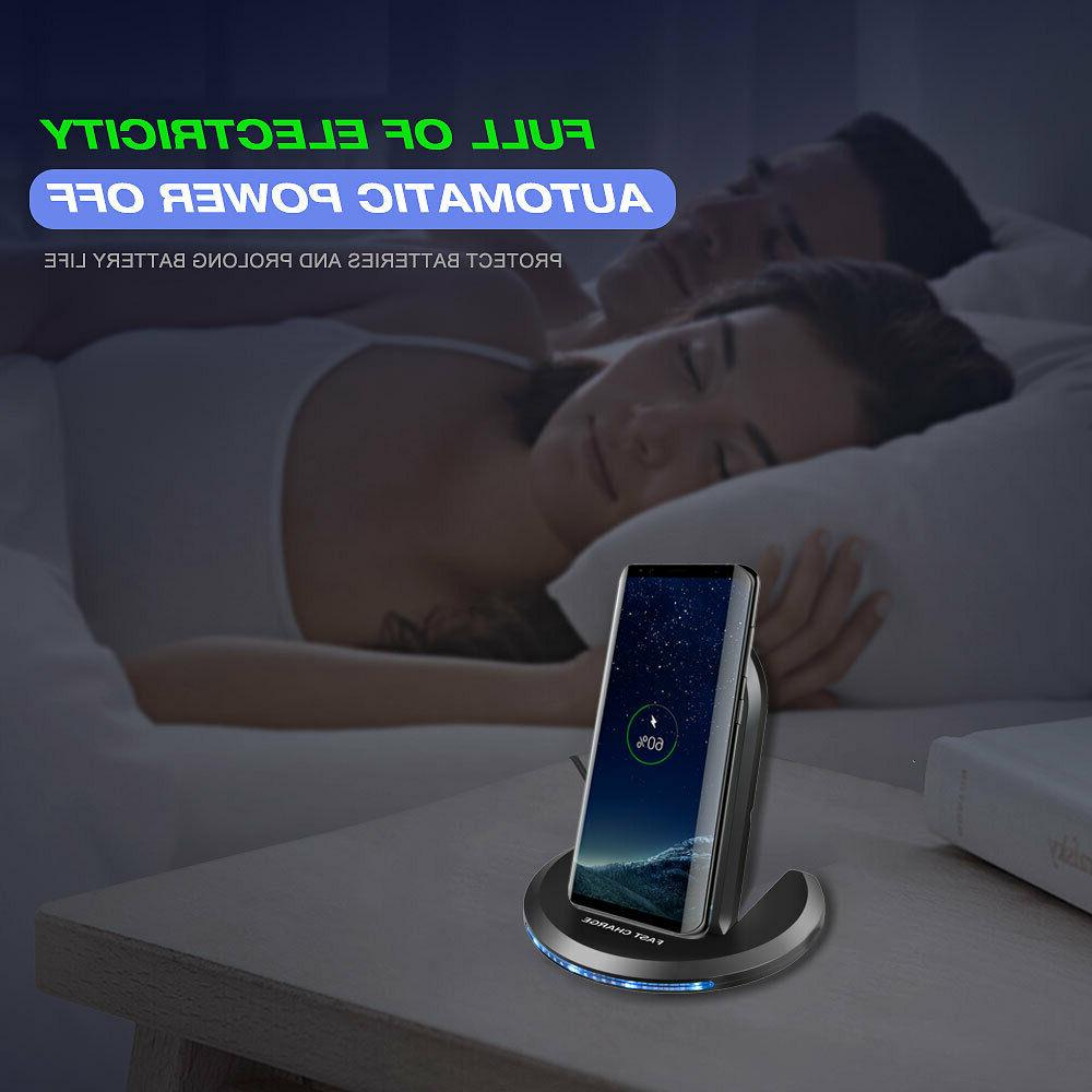 For Samsung Galaxy S6 Plus 5 Qi Charger Charging Dock