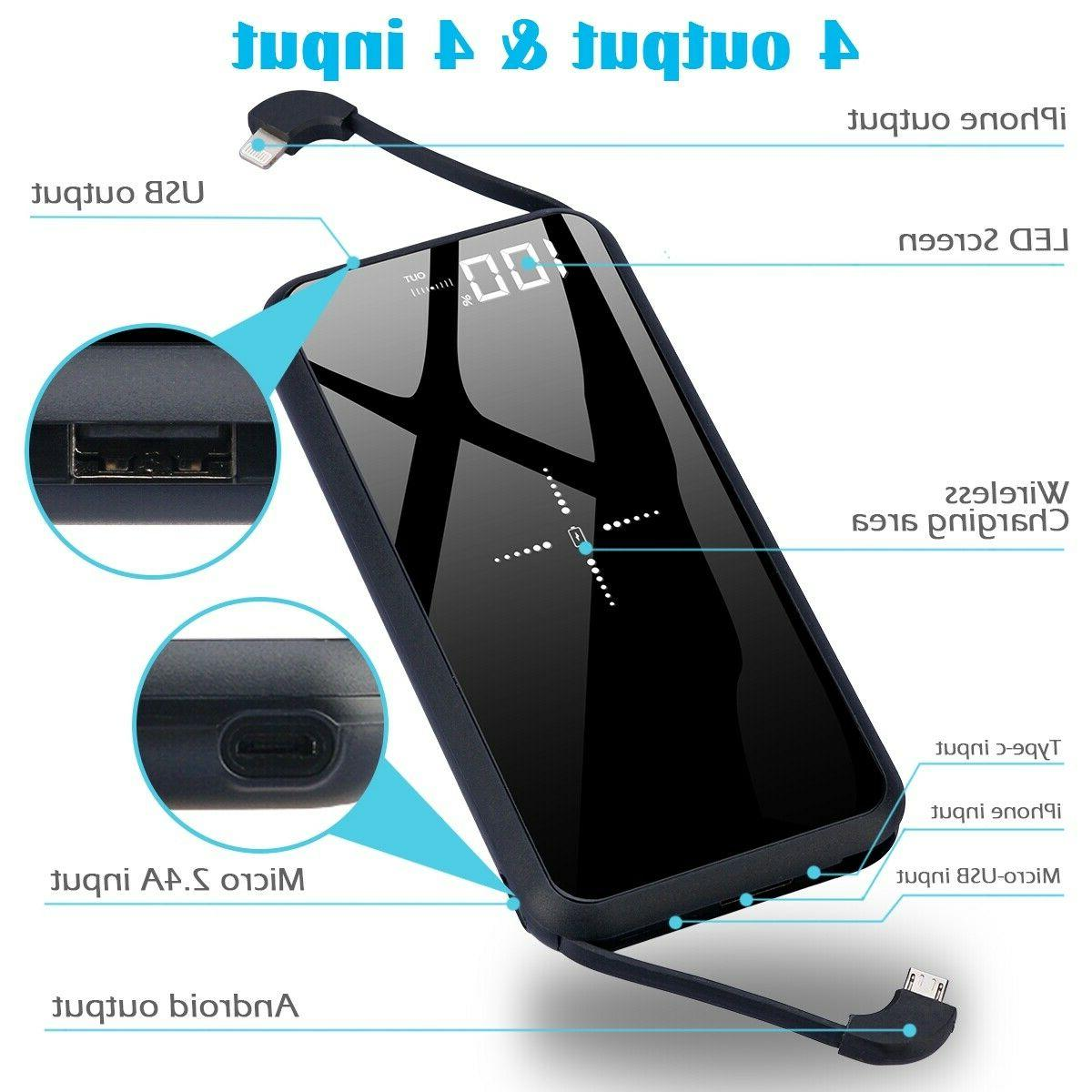 Thin, QI Charger, Pack Bank