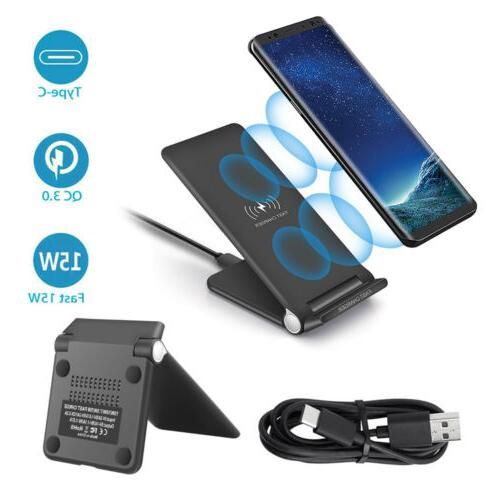 US Qi Charger Dock Pad For 11 8 X XS XR