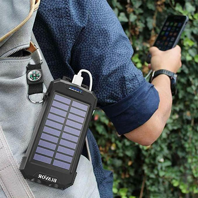 Wireless Portable Ultra-Compact 10000mAh Pack Back