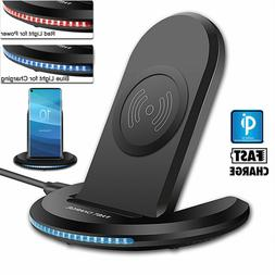 For Samsung Galaxy S7 S6 Edge Plus Note 5 Qi Wireless Fast C