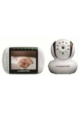 Motorola MBP36/ MBP36-4 Wireless Video Baby Monitor With 4 C