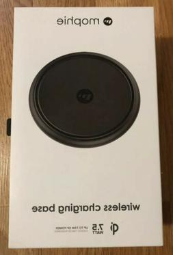 New mophie 7.5W Wireless Charging Base - Black | Qi Enabled