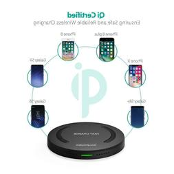RAVPower Qi-Certified Wireless Charger For iPhone XS/Max/XR/