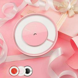 Wireless Charger Qi-Certified Universal Slim Charging Pad w/