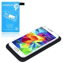 TPT Qi Wireless Charger Charging Pad + Receiver Kit for Sams