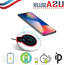 QI Wireless Charger Pad Charging iPhone 11/Pro/Max/XS/8/Gala