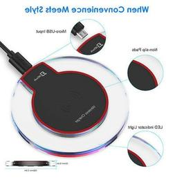 JETech Qi Wireless Charger Pad for iPhone X, Samsung galaxy
