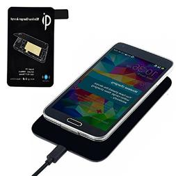 Qi Standard Wireless Charger  Receiver Tag For Samsung Galax