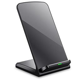 ELLESYE Qi Wireless Charger Stand Pad Compatible iPhone Xs/X