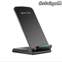 Qi Wireless Fast Charger Charging Pad Stand Dock Samsung Gal