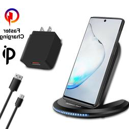 For Samsung Galaxy Note 20 Ultra Qi Wireless Fast Charger Ch