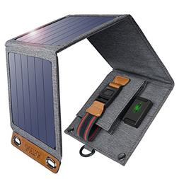CHOETECH Solar Charger 14W USB Foldable Solar Power Charger
