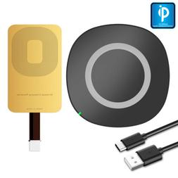 Wireless Charger Adapter Qi Charging Receiver Kit For LG Sam