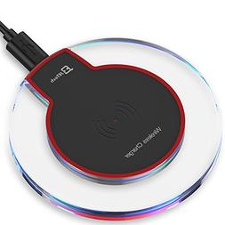 JETech Universal Wireless Charger Qi Charging Pad