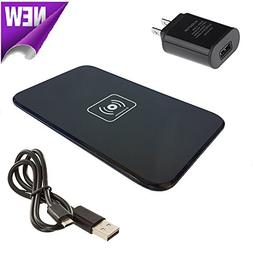 Wireless Charger, Qi Wireless Fast Charging Pad Station Mat