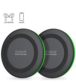 Yootech Wireless Qi Charger Wireless Chargers - Pack of 2